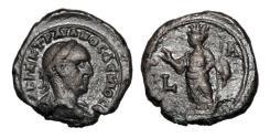 Ancient Coins - ROMAN EGYPT.  Trajan Decius, 249-251 AD.  Billon Tetradrachm.  ex Dattari collection.