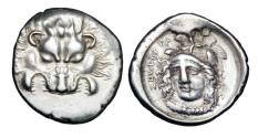 Ancient Coins - LYCIA Dynasts.  Vekhssere II, 410-380 BC.  AR Third Stater.