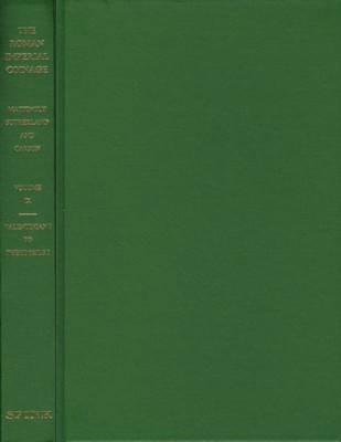 Ancient Coins - RIC9:  Mattingly, et al.  The Roman Imperial Coinage Volume 9