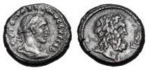 Ancient Coins - ROMAN EGYPT.  Maximinus I,  235-238 AD.  Æ Tetradrachm.  Rare.