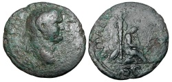 Ancient Coins - VESPASIAN, 69-79 AD.  ¨ As