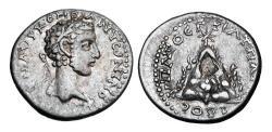 Ancient Coins - CAPPADOCIA, Caesarea.  Commodus, 177-192 AD.  AR Drachm.  ex PNC collection.