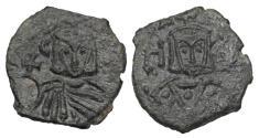 Ancient Coins - BYZANTINE EMPIRE.  Leo V the Armenian, 813-820 AD.  AE Follis.