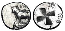 Ancient Coins - BITHYNIA, Kalchedon.  340-320 BC.  AR Siglos.