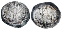 BYZANTINE EMPIRE.  Michael VII, 1071-1078 AD.  AR Miliaresion.  Rare.