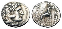 Ancient Coins - SELEUKID KINGDOM.  Antiochos I, 280-261 BC.  AR Tetradrachm.