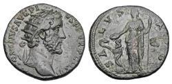 Ancient Coins - ANTONINUS PIUS, 138-161 AD.  Æ Dupondius.