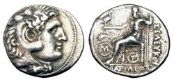 Ancient Coins - SELEUKID KINGDOM.  Antiochos I, 280-261 BC.  AR Tetradrachm.