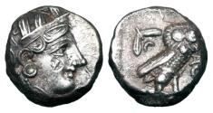Ancient Coins - ATTICA, Athens.  393-300 BC.  AR Tetradrachm.