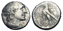 Ancient Coins - PTOLEMAIC KINGDOM.  Cleopatra VII Thea, 51-30 BC.  AR Tetradrachm.  The famous Cleopatra.  Rare.