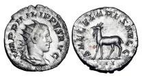 Ancient Coins - PHILIP II, 247-249 AD.  AR Antoninianus.