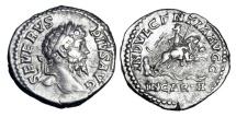 Ancient Coins - SEPTIMIUS SEVERUS, 193-211 AD.  AR Denarius.