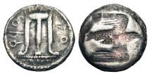 Ancient Coins - BRUTTIUM, Kroton.  510-480 BC.  AR Stater.