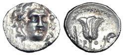 Ancient Coins - CARIAN ISLANDS, Rhodes.  304-167 BC.  AR Drachm.