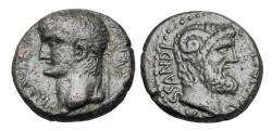 Ancient Coins - MACEDON, Cassandreia.  Claudius, 41-54 AD.  Æ20.  Rare.