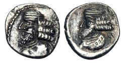 Ancient Coins - PERSIS.  Pakur I, I Century AD.  AR Hemidrachm.