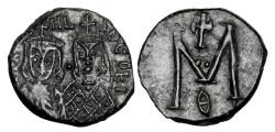 Ancient Coins - BYZANTINE EMPIRE.  Michael II, 820-829 AD.  AE Follis.