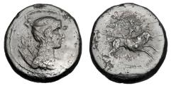 Ancient Coins - MACEDONIA, Amphipolis.  ®29.   ex Hutchins collection.