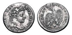Ancient Coins - Laodicea ad Mare.  Caracalla, 198-217 AD.  AR Tetradrachm.