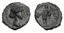 Ancient Coins - THRACE, Philippopolis.  Crispina, wife of Commodus, d. 185 AD.  AE20.