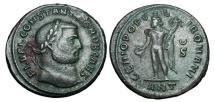 Ancient Coins - CONSTANTIUS I Chlorus, 305-306 AD.  Æ Follis …