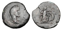 Ancient Coins - ROMAN EGYPT.  Antoninus Pius, 138-161 AD.  AE  Drachm.  ex. Doswell collection.