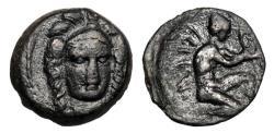Ancient Coins - CILICIA  Soloi, 406-397 BC.  Æ13.  Rare.
