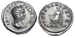 Ancient Coins - JULIA DOMNA, wife of Septimius Severus, d. 217 AD.  AR Antoninianus …