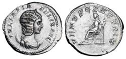 Ancient Coins - JULIA DOMNA, wife of Sept. Severus, d. 217 AD.  AR Antoninianus.