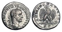 Antioch.  Trebonianus Gallus, 251-253 AD.  Billon Tetradrachm