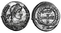 Ancient Coins - JULIAN II, 360-363 AD.  AR Siliqua.  ex E. Harptree Hoard.