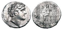 Ancient Coins - SELEUKID KINGDOM.  Alexander I Balas, 150-145 BC.  AR Tetradrachm.