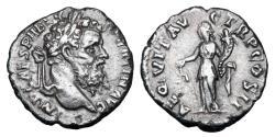 Ancient Coins - PERTINAX, 193 AD. AR Denarius.