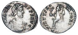 Ancient Coins - ARCADIUS, 383-408 AD.  AR Siliqua.