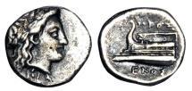Ancient Coins - BYTHINIA, Cius.  350-300 BC.  AR Hemidrachm.