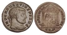 Ancient Coins - MAXENTIUS, 306-312 AD.  AE Follis