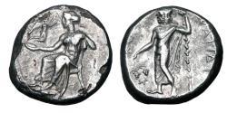 Ancient Coins - CILICIA, Nagidos.  420-380 BC.  AR Stater.