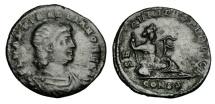 Ancient Coins - HANNIBALLIANUS, Rex, 335-337 AD.  AE Reduced Follis