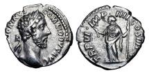 Ancient Coins - COMMODUS, 177-192 AD.  AR Denarius …