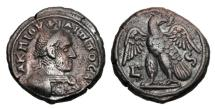 Ancient Coins - ROMAN EGYPT.  Philip I, 244-249 AD.  Billon Tetradrachm.