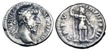 LUCIUS VERUS, 161-169 AD.  AR Denarius