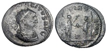 Ancient Coins - TACITUS, 275-276 AD.  Silvered AE Antoninianus