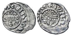 World Coins - ENGLAND.  Henry III, 1216-1272 AD.  AR Penny