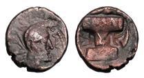 Ancient Coins - KUSHANO-SASANIANS.  Hormazd Kushanshah, III-IV Century AD.  Æ Unit.