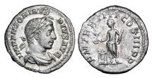Ancient Coins - ELAGABALUS, 218-222 AD.  AR Denarius.