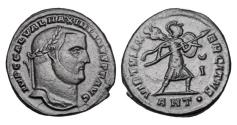 World Coins - GALERIUS, 305-311 AD.  Æ Follis.
