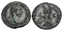 Ancient Coins - TRAJAN, 98-117 AD.  AE As.