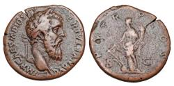 Ancient Coins - DIDIUS JULIANUS, Mar-Jun 193 AD.  Æ Sestertius.  Rare.  ex. Hoffman collection.