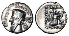 Ancient Coins - PARTHIAN KINGDOM.  Vonones I, 8-12 AD.  AR Drachm.  ex PNC collection.