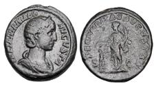Ancient Coins - JULIA MAMAEA, mother of Alexander, d. 235 AD.  Æ As.